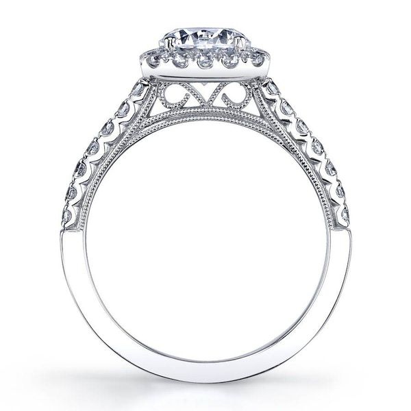 DIANDRA - HALO DIAMOND ENGAGEMENT RING Image 2 Mark Allen Jewelers Santa Rosa, CA