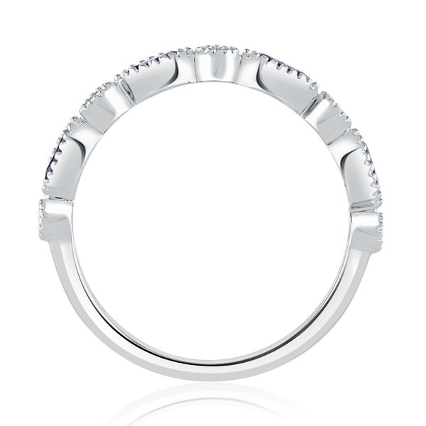Marquise & Round Sapphire & Diamond Band Image 2 Mark Allen Jewelers Santa Rosa, CA