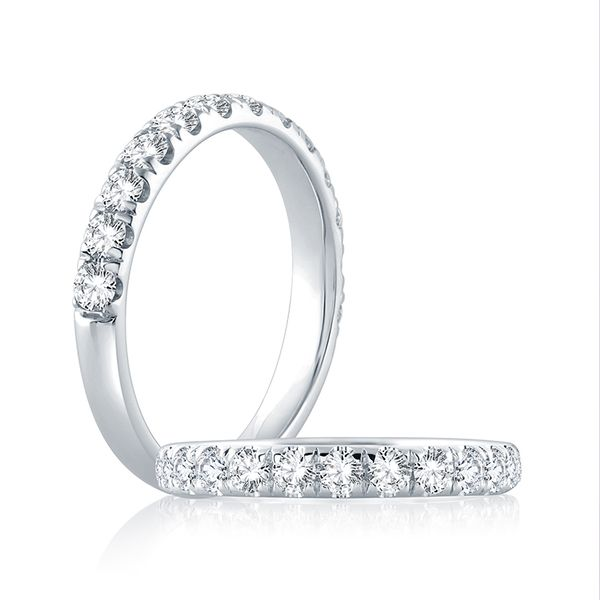 White Gold Diamond Band Mark Allen Jewelers Santa Rosa, CA