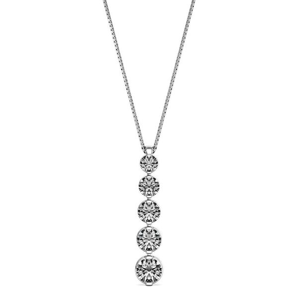 White Gold Diamond Necklace .50ct Mark Allen Jewelers Santa Rosa, CA