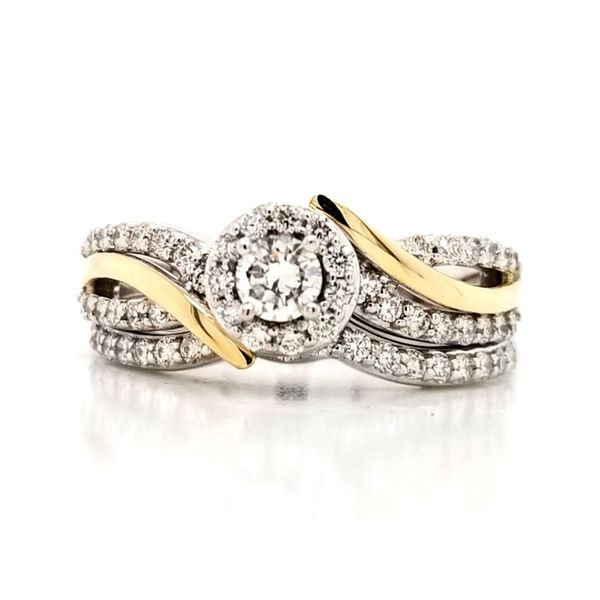 Diamond Wedding Set-Complete Mark Jewellers La Crosse, WI