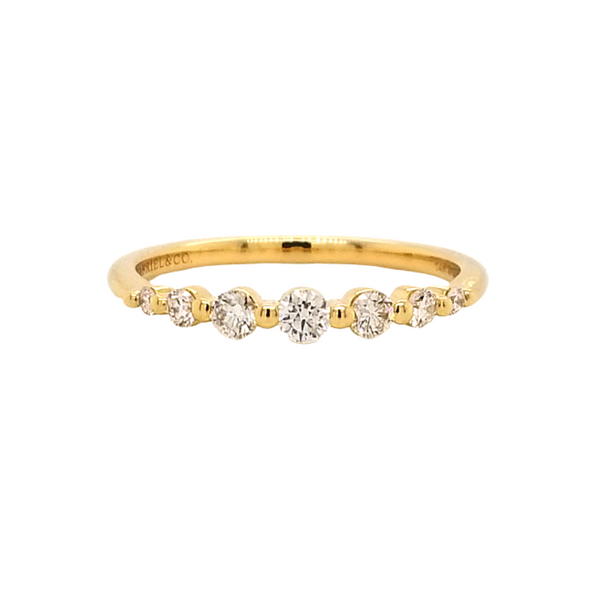 Diamond Stackable Ring Image 3 Mark Jewellers La Crosse, WI
