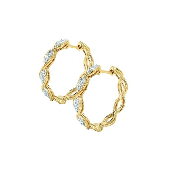 Hoop Earrings Mark Jewellers La Crosse, WI