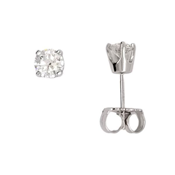 Diamond Stud Earrings Image 2 Mark Jewellers La Crosse, WI