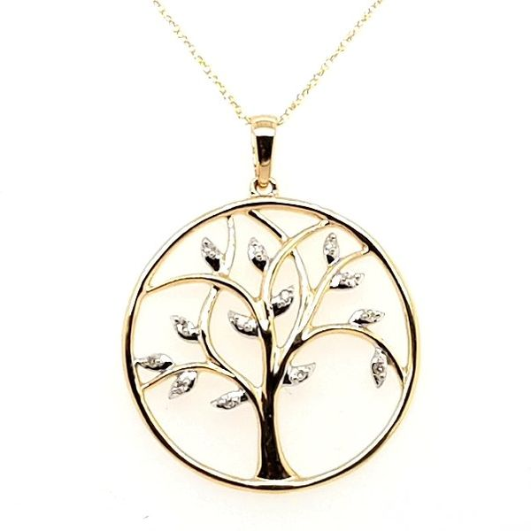 Tree of Life Pendant Image 3 Mark Jewellers La Crosse, WI