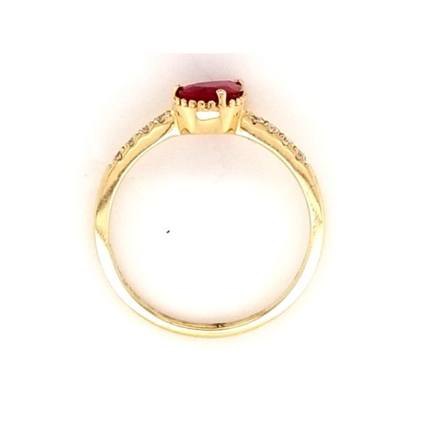 Ruby Ring Image 2 Mark Jewellers La Crosse, WI