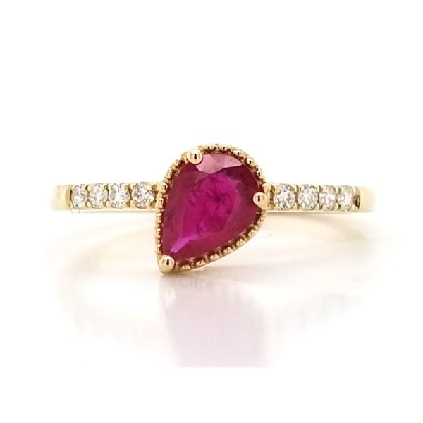 Ruby Ring Mark Jewellers La Crosse, WI