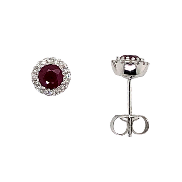 Ruby Earrings Mark Jewellers La Crosse, WI