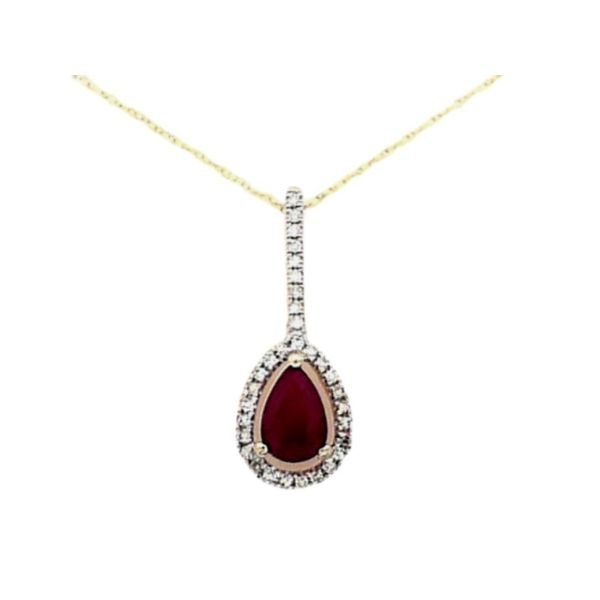 Ruby Pendant Mark Jewellers La Crosse, WI