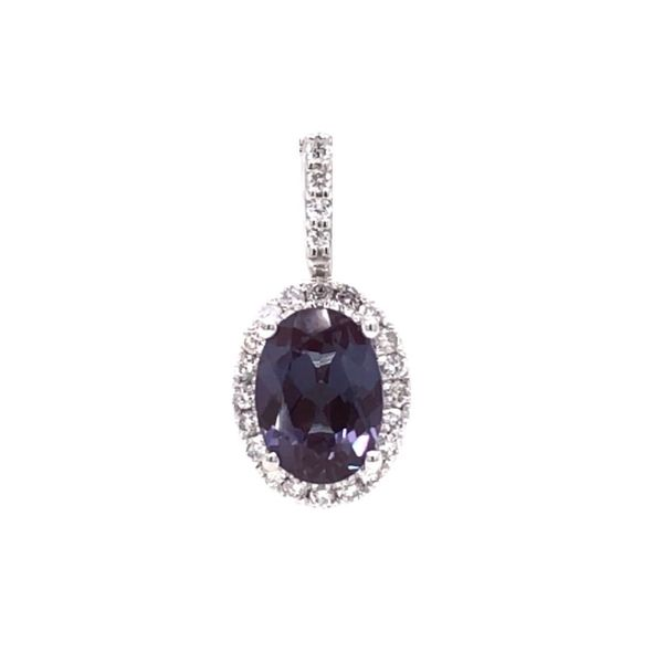 Created Alexandrite Earrings Mark Jewellers La Crosse, WI