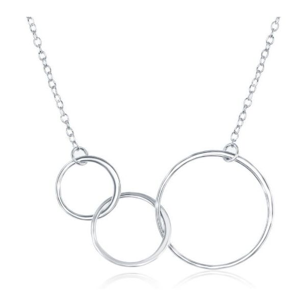 Silver Fashion Necklace Mark Jewellers La Crosse, WI