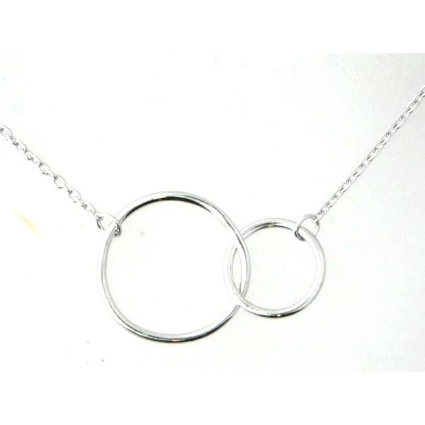 Silver Fashion Necklace Image 2 Mark Jewellers La Crosse, WI