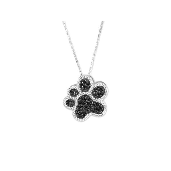 Paw Print Pendant Mark Jewellers La Crosse, WI