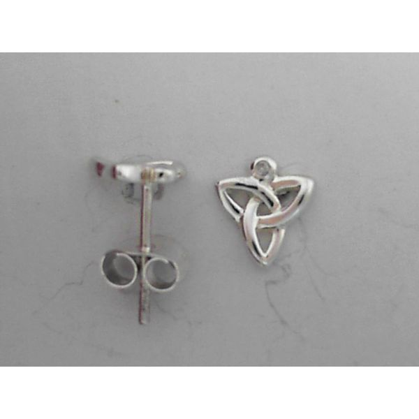 Trinity Knot Earrings Image 2 Mark Jewellers La Crosse, WI