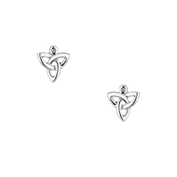 Trinity Knot Earrings Mark Jewellers La Crosse, WI