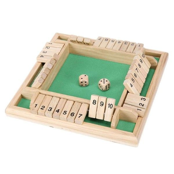Shut the Box Game Mark Jewellers La Crosse, WI