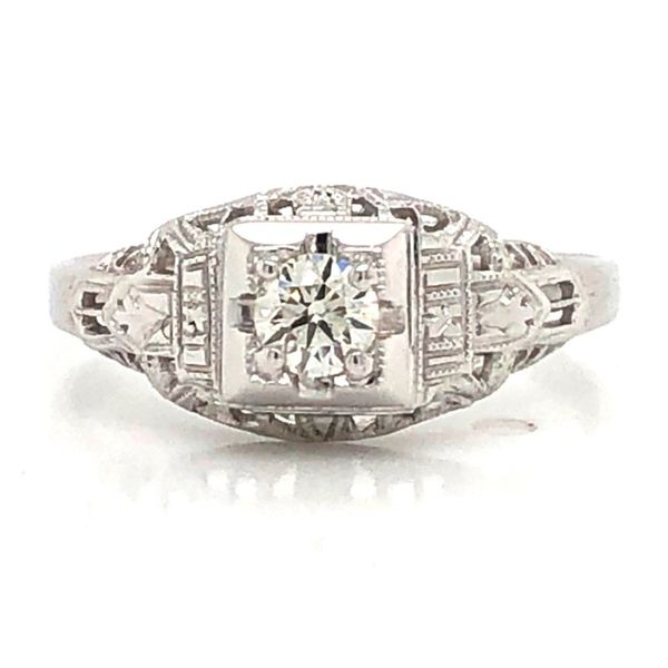 Estate Diamond Ring Mark Jewellers La Crosse, WI