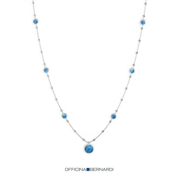Officina Bernardi Silver Necklace Mathew Jewelers, Inc. Zelienople, PA