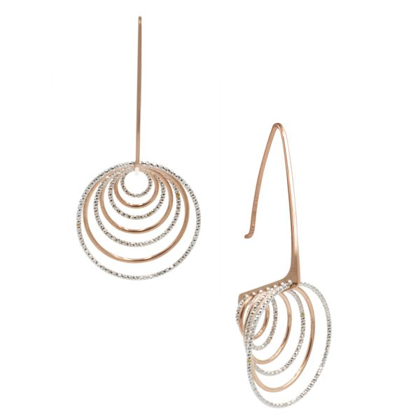 Frederic Duclos Silver Earrings Mathew Jewelers, Inc. Zelienople, PA