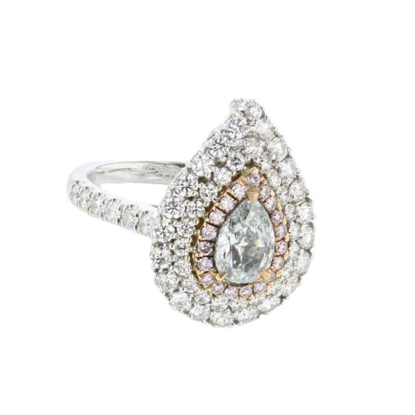 Blue Diamond Ring McCarver Moser Sarasota, FL