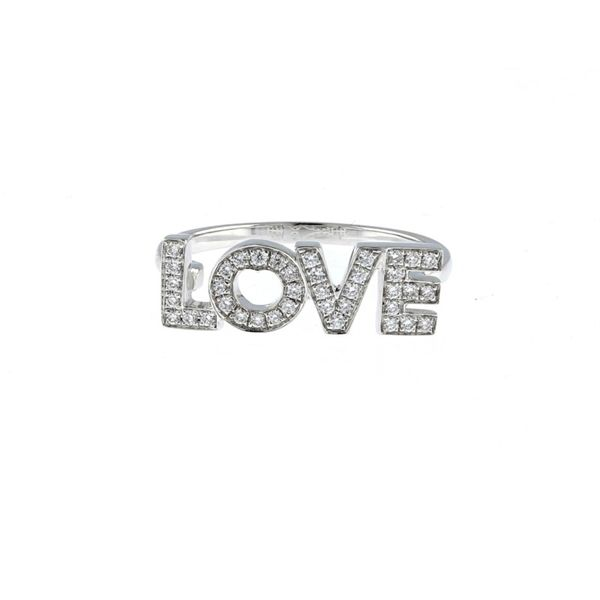 Diamond LOVE Ring McCarver Moser Sarasota, FL
