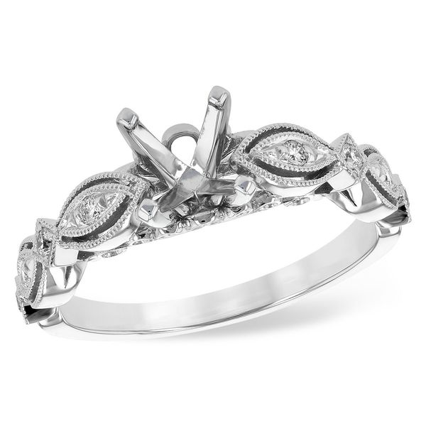 Round Cut Diamond Solitaire Engagement Ring Image 2  ,
