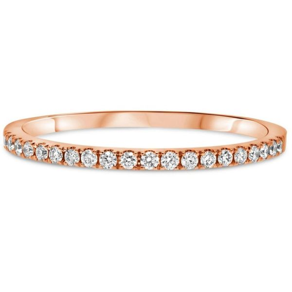 14 Karat Rose Gold Diamond Band Meigs Jewelry Tahlequah, OK