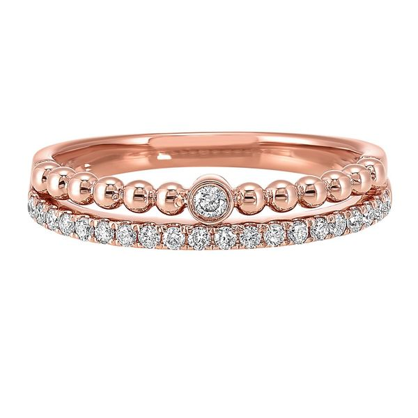 Rose Gold Diamond Band Meigs Jewelry Tahlequah, OK