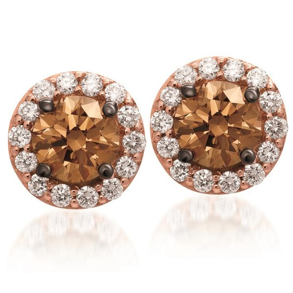 Le Vian Diamond Halo Stud Earrings Meigs Jewelry Tahlequah, OK
