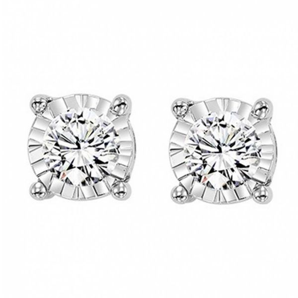 .10CT Diamond Stud Earrings Meigs Jewelry Tahlequah, OK