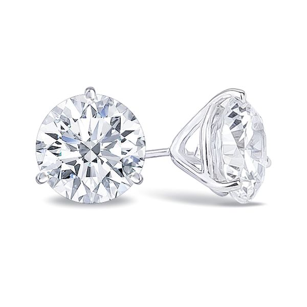 1.0CTW Diamond Stud Earrings Meigs Jewelry Tahlequah, OK
