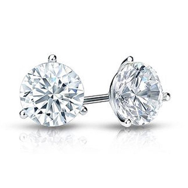 .50CT Diamond Stud Earrings Meigs Jewelry Tahlequah, OK