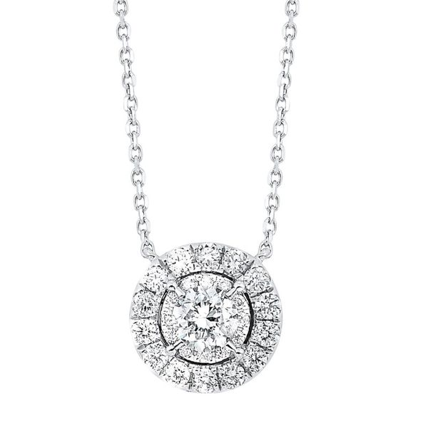 14KW .33CTW Round Diamond Necklace Meigs Jewelry Tahlequah, OK