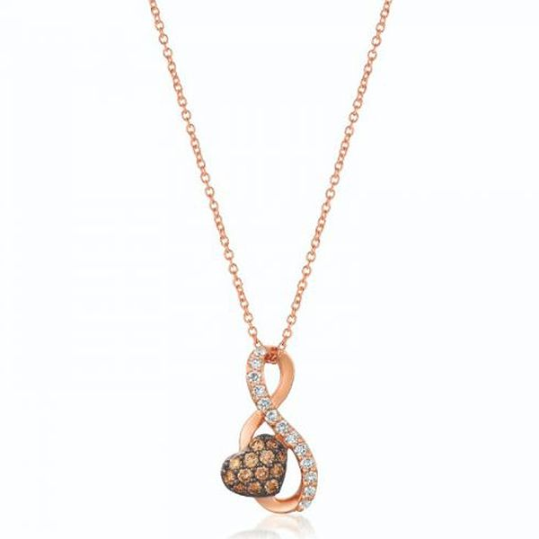 Le Vian Rose Gold Diamond Necklace Meigs Jewelry Tahlequah, OK