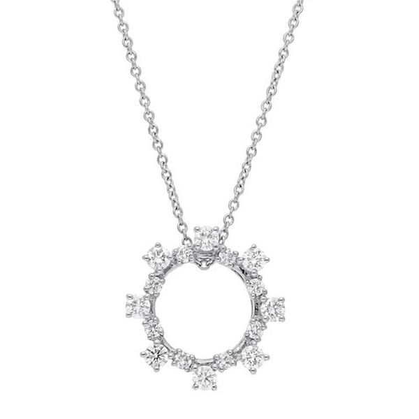 Round Diamond Fashion Necklace Meigs Jewelry Tahlequah, OK