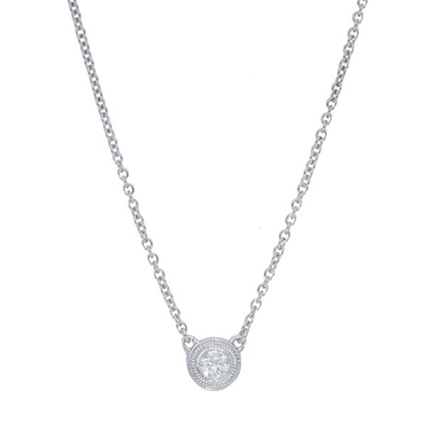 Round Diamonds By The Yard Single Necklace Meigs Jewelry Tahlequah, OK