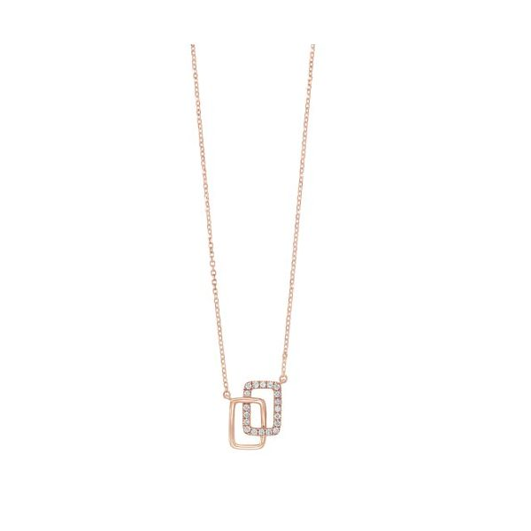 Rose Gold Diamond Necklace Meigs Jewelry Tahlequah, OK