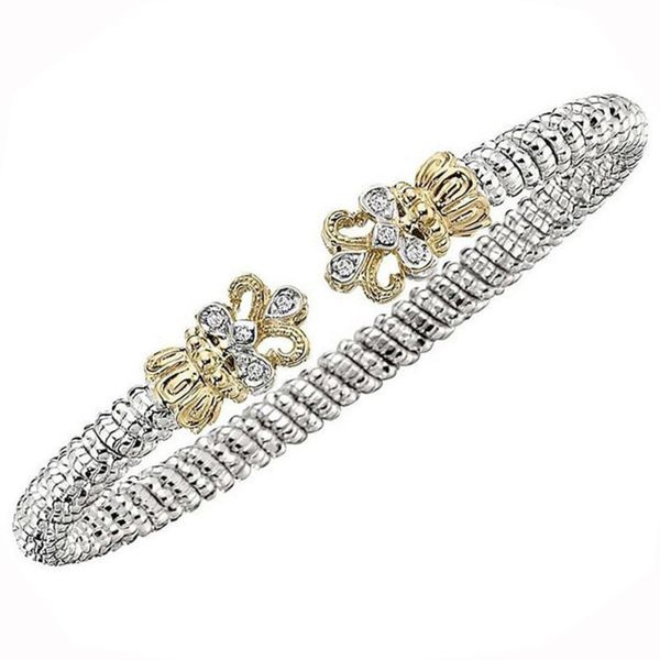 Vahan 4mm Diamond Fleur Di Lis Bracelet Meigs Jewelry Tahlequah, OK