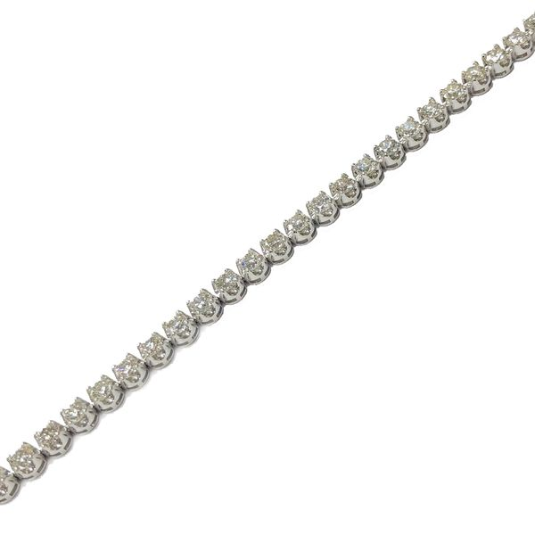 6.90CTW Diamond Tennis Bracelet Meigs Jewelry Tahlequah, OK