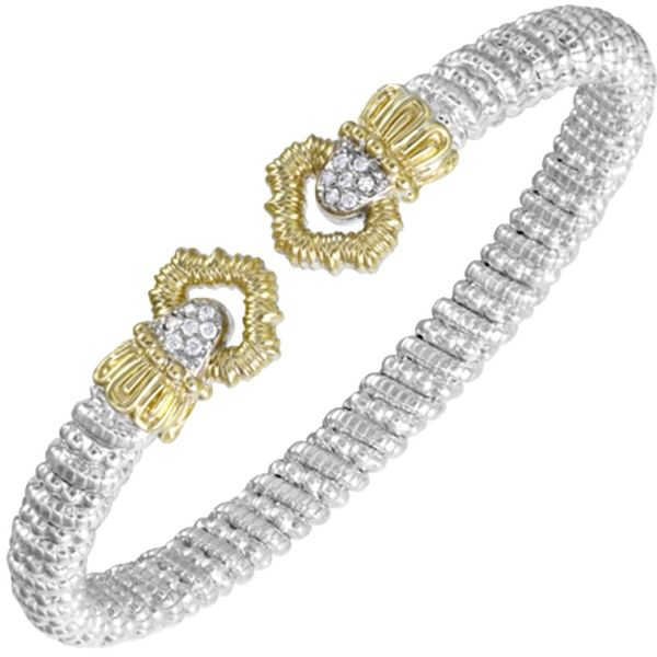 Vahan 6mm Two Tone Diamond Bracelet Meigs Jewelry Tahlequah, OK