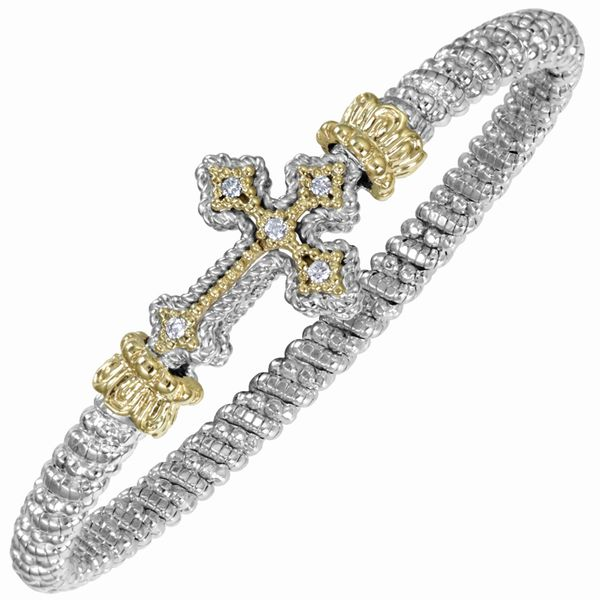 Vahan Diamond Cross Bracelet Meigs Jewelry Tahlequah, OK