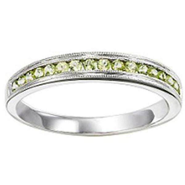 Peridot Stackable Band Meigs Jewelry Tahlequah, OK