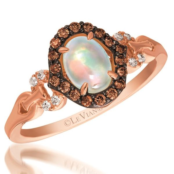 Le Vian Opal and Chocolate Diamond Ring Meigs Jewelry Tahlequah, OK