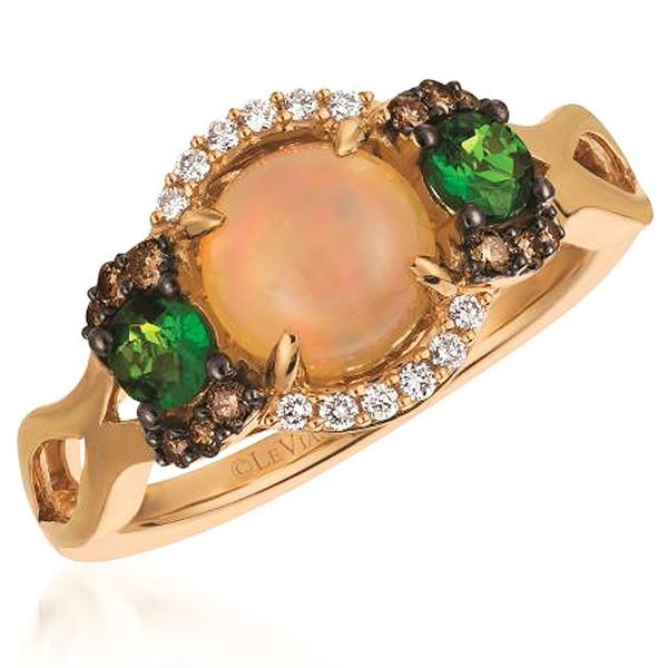 Le Vian Opal, Diopside & Diamond Ring Meigs Jewelry Tahlequah, OK