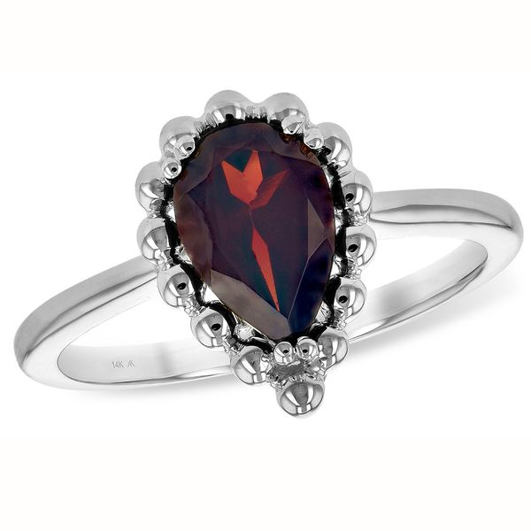 Garnet Fashion Ring Meigs Jewelry Tahlequah, OK