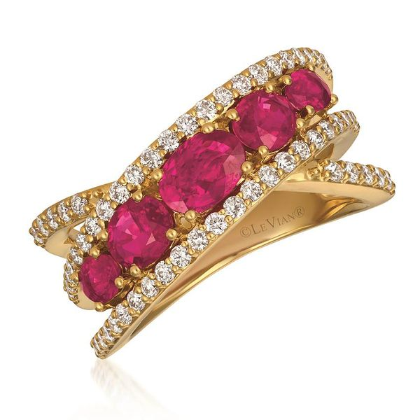 Le Vian Ruby & Diamond Ring Meigs Jewelry Tahlequah, OK