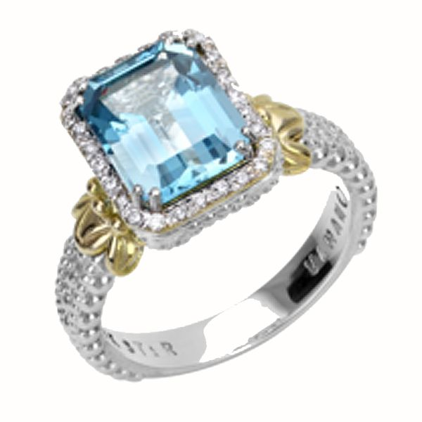 Vahan Blue Topaz Ring Meigs Jewelry Tahlequah, OK