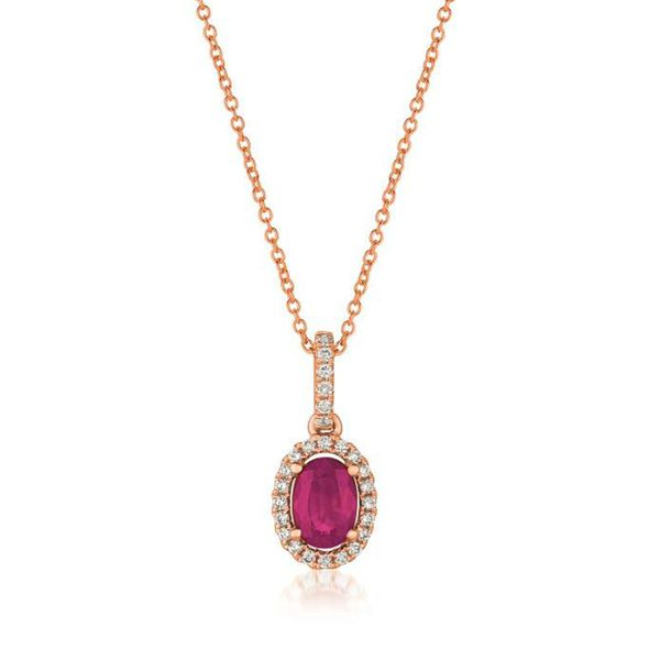 Le Vian Ruby & Diamond Necklace Meigs Jewelry Tahlequah, OK