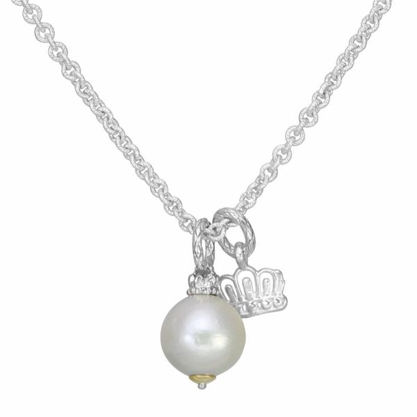 Vahan Pearl Charm Necklace Meigs Jewelry Tahlequah, OK