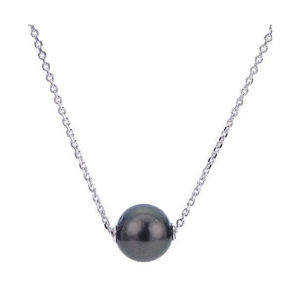 Single Movable Tahitian Pearl Necklace Meigs Jewelry Tahlequah, OK